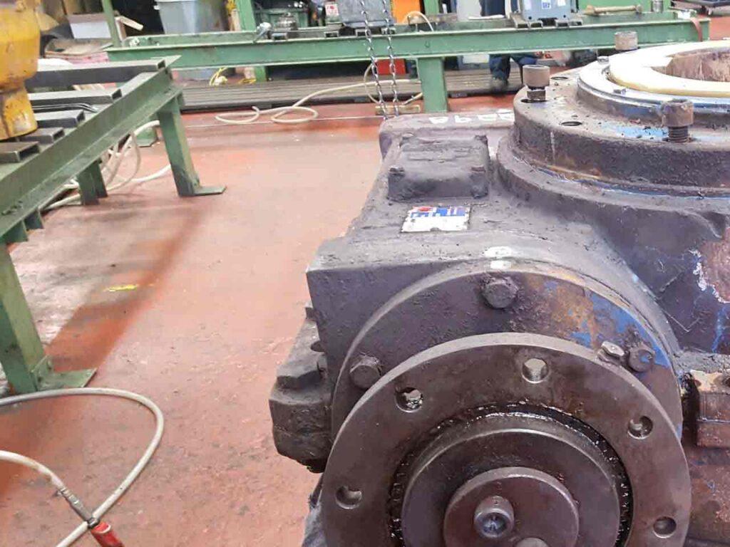 IESA British Steel Gearbox Reducers Repair And Refurbishment